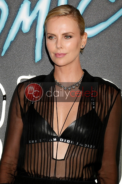 """Charlize Theron<br /> at the """"Atomic  Blonde"""" Premiere, Theater at the Ace Hotel, Los Angeles, CA 07-24-17<br /> David Edwards/DailyCeleb.com 818-249-4998"""
