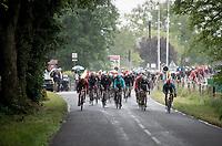 first breakaway attempt of this rain soaked stage start by polka-dot jersey wearer Casper Pedersen (DEN/Sunweb)<br /> <br /> Stage 6: Saint-Vulbas to Saint-Michel-de-Maurienne (228km)<br /> 71st Critérium du Dauphiné 2019 (2.UWT)<br /> <br /> ©kramon