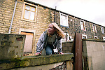 PC Emma Shaw is a plain clothes police officer based in Burnley. She searches for children in 'party houses', abandoned properties used as hide-outs by runaways.<br /> <br /> Each year more than 100,000 children run away from home or care in the UK. <br /> <br /> In Britain there is an ever growing tide of children who run away and a ruthlessly efficient group of predators are willing to prey on them. With 66% of parents or carers not reporting their children missing to the police, the most vulnerable are the most unprotected.<br /> <br /> Runaway children go the heart of how society deals with its most vulnerable and troubled teenagers. Some are running away from problems, while others are running headlong towards them. When on the run they are exposed to drugs, organised crime, sexual exploitation and trafficking networks.<br /> <br /> In a recent report by The Childrens Society, one in six runaways say they were forced to sleep rough or with strangers. With adult refuges turning away anyone under the age of 18, there are only ten refuge beds in the entire country for children on the streets.<br /> <br /> In this photo essay and FIVE news report, I have documented some of the most prolific young runaways in the UK, running over 80 times a year. <br /> <br /> &copy; Hazel Thompson.