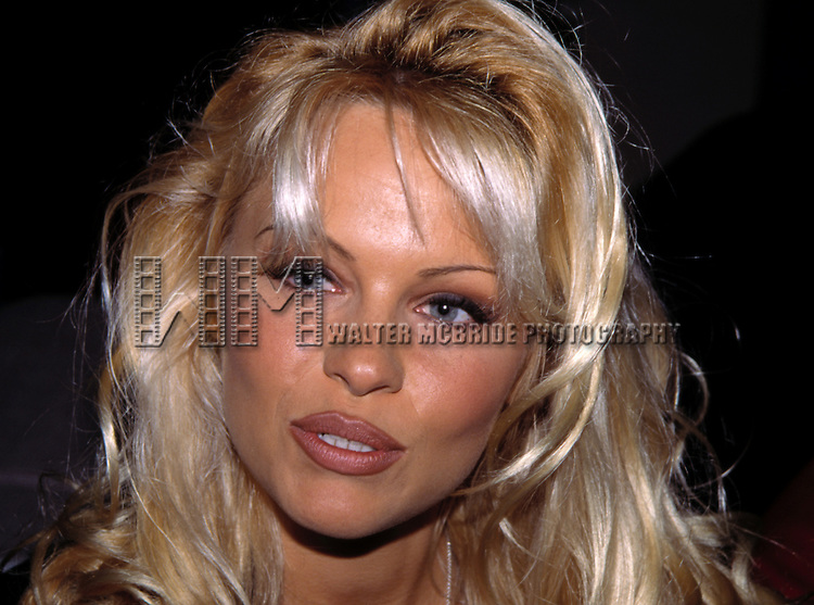 PAMELA ANDERSON.Attends the N.A.T.P.E. TV Convention.Las Vegas, Nevada.January 1995.CREDT ALL USES..© Walter McBride / , USA