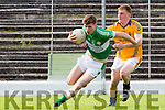 Conor Keane Legion and Sean Weir Feale Rangers in action during their County Championship clash in Fitzgerald Stadium on sunday