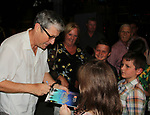 Days of Our Lives' Charles Shaughnessy at stage door as he signs for fans as he stars as Captain Hook in Peter Pan - Broadway's Timeless Musical at Pittsburgh CLO, Pittsburgh, PA on opening night on July 12, 2019. (Photo by Sue Coflin/Max Photos)