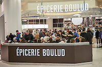 The third Epicerie Boulud restaurant in the Oculus in the World Trade Center Transportation Hub in New York on Monday, January 2, 2017. The 35 seat casual dining restaurant is the third incarnation by the eponymous restauranteur Daniel Boulud. (© Richard B. Levine)
