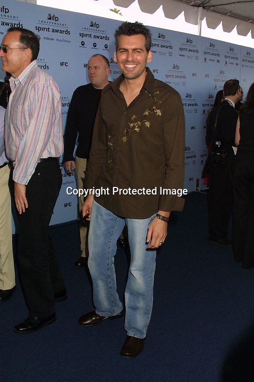 ©2003 KATHY HUTCHINS/ HUTCHINS PHOTO.INDEPENDENT SPIRIT AWARDS.SANTA MONICA, CA.March 22, 2003..ODED FEHR