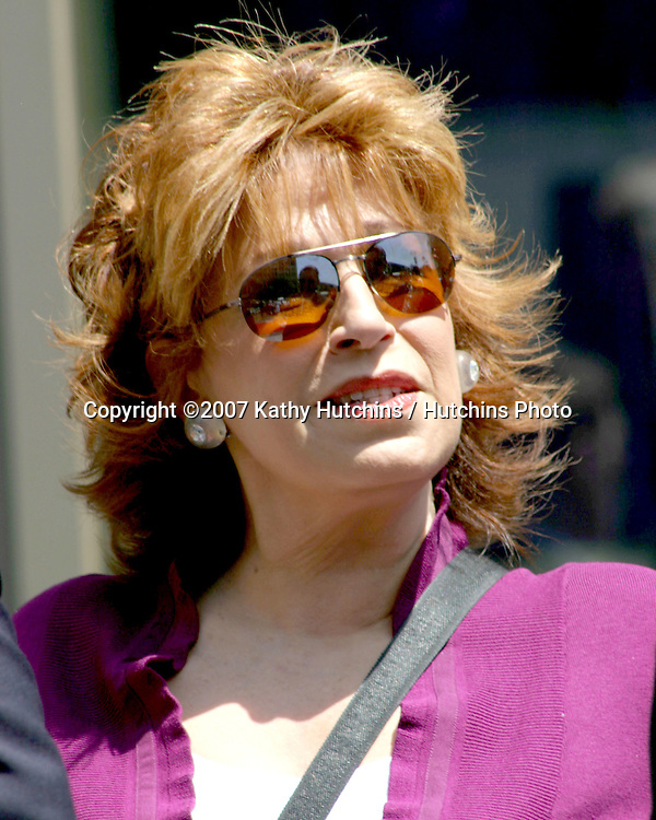 Joy Behar.Barbara Walters receives Star on the Hollywood Walk of Fame.Hollywood & Highland.Los Angeles, CA.June 14, 2007.©2007 Kathy Hutchins / Hutchins Photo....