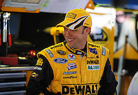 Apr 24, 2009; Talladega, AL, USA; NASCAR Sprint Cup Series driver Matt Kenseth during practice for the Aarons 499 at Talladega Superspeedway. Mandatory Credit: Mark J. Rebilas-