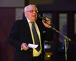 Dermot Finglas who compered Maria Butterly's launch of her new album 'Blue Mandolin' at the Knightsbrook hotel in Trim. Photo:Colin Bell/pressphotos.ie