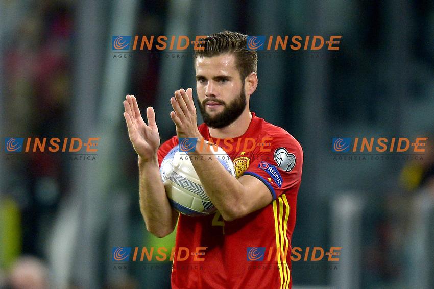 Nacho Spain,<br /> Torino 06-10-2016 Juventus Stadium <br /> World Cup Qualifiers Italy - Spain / Italia - Spagna. Foto Filippo Alfero / Insidefoto