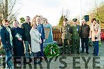 Tarbert 1916-2016 Plaque Unveiling : Pictured at the unveiling of a plaque to commerate 1916-2016 at Forge Park, Tarbert on Sunday last were Sarah Prendiville, Dr. Declan Downey, Cllr. Jimmy Moloney, Joan Murphy, Tarbert Development Association, Cllr.. Liam Purtill, Cmd Raymond McGibney, Cor. Declan McGibney, Cllr. John Lucid & Joan McCarthy, Kerry County Council.
