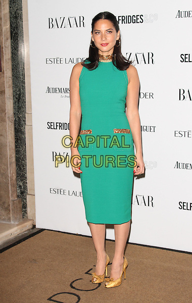 LONDON, ENGLAND - NOVEMBER 05: Olivia Munn attends the Harper's Bazaar Women of the Year Awards 2013, Claridge's Hotel on November 05, 2013 in London, England, UK.<br /> CAP/ROS<br /> &copy;Steve Ross/Capital Pictures