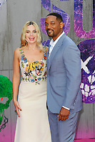 LONDON, ENGLAND - AUGUST 3: Margot Robbie and Will Smith attending the 'Suicide Squad' European Premiere at Odeon Cinema, Leicester Square on August 3, 2016 in London, England.<br /> CAP/MAR<br /> &copy;MAR/Capital Pictures /MediaPunch ***NORTH AND SOUTH AMERICAS ONLY***