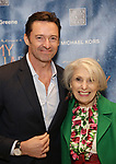 Hugh Jackman and Pat Schoenfeld attends the Broadway Opening Night Celebration for 'My Fair Lady' at The Grand Promenade, David Geffen Hall on April 19, 2018 in New York City.