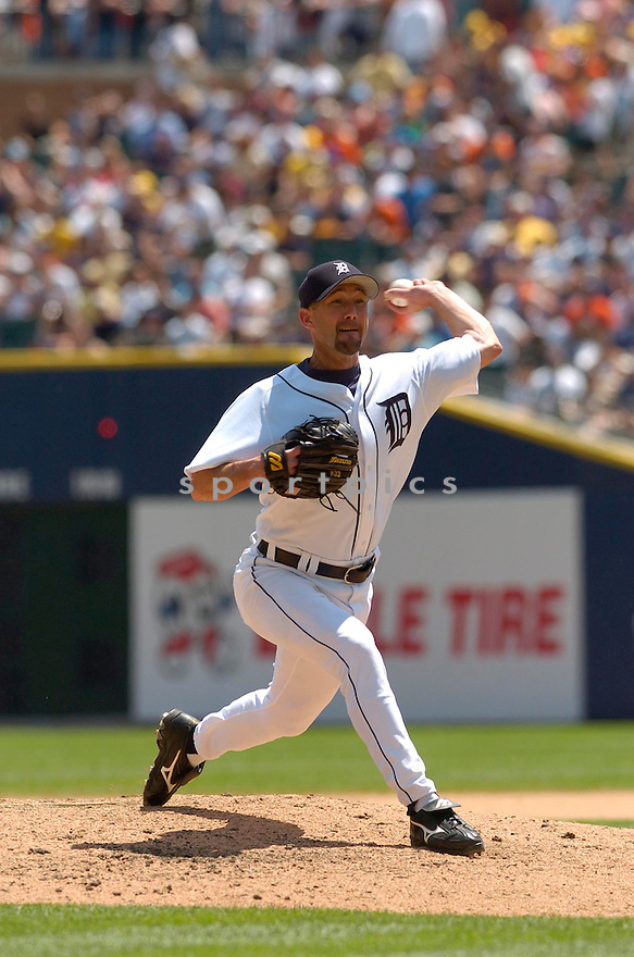 Jamie Walker, of the Detroit Tigers, during their game against the  Boston Red Sox on June 6, 2006 in Detroit...Red Sox win8-3...David Durochik / SportPics