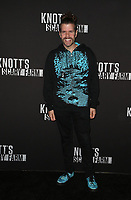 BUENA PARK, CA - SEPTEMBER 29: Perez Hilton, at Knott's Scary Farm & Instagram's Celebrity Night at Knott's Berry Farm in Buena Park, California on September 29, 2017. Credit: Faye Sadou/MediaPunch