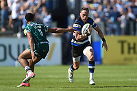 James Wilson of Bath Rugby in possession. Aviva Premiership match, between Bath Rugby and London Irish on May 5, 2018 at the Recreation Ground in Bath, England. Photo by: Patrick Khachfe / Onside Images