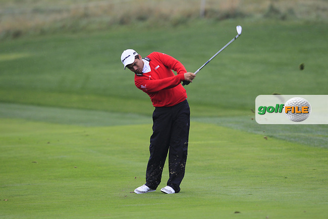 Romain Langasque (FRA) on the 11th fairway during Round 2 of the D+D Real Czech Masters at the Albatross Golf Resort, Prague, Czech Rep. 01/09/2017<br /> Picture: Golffile | Thos Caffrey<br /> <br /> <br /> All photo usage must carry mandatory copyright credit     (&copy; Golffile | Thos Caffrey)