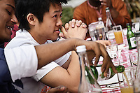 Photos for Kingston University  London international student brochures and prospectuses.??Students relaxing and socialising - Lunch at Frere Jacques restaurant -  Tel: 020 8546 1332 - www.frerejacques.co.uk. Table set up outside with river backdrop - students socialising by the river. ??Date Taken: 19/04/10??Location: ??Contact:??Commissioned by:  Kingston University - Emma Carlino?Emma Carlino.International Marketing Communications Manager.International Centre.Kingston University London.Swan Wing, River House.53-57 High Street.Kingston upon Thames.London.KT1 1LQ.UK.Tel: +44(0)20 8417 3006.Fax: +44(0)20 8417 3028.Email: e.carlino@kingston.ac.uk.Website: www.kingston.ac.uk/international