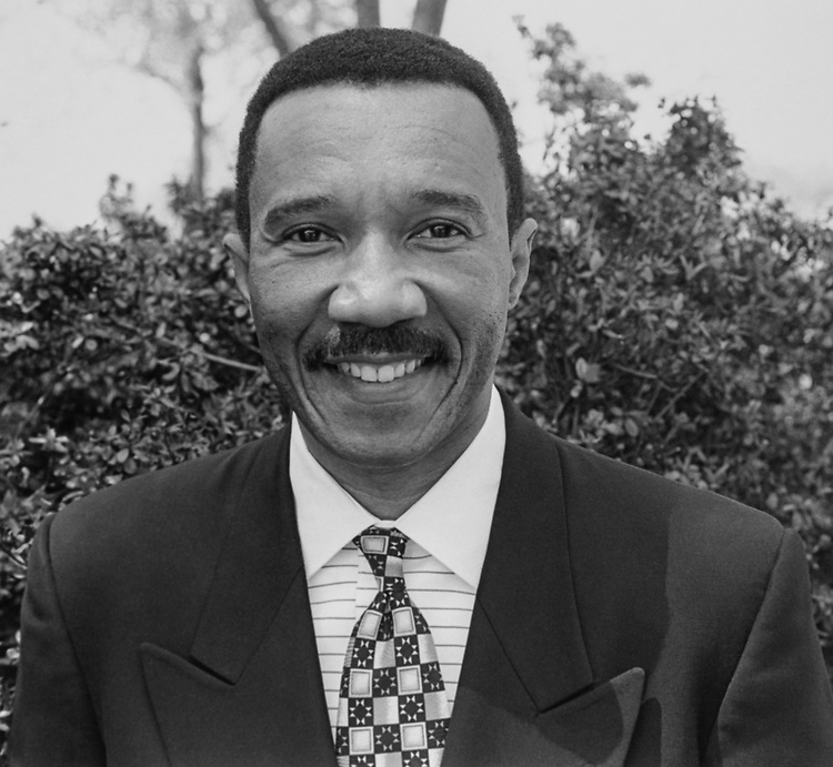 Rep. Kweisi Mfume, D-Md., on April 18, 1994. (Photo by Chris Martin/CQ Roll Call via Getty Images)