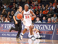 Virginia women's basketball player Monica Wright