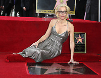 JAN 08 Gillian Anderson Hollywood Walk of Fame Ceremony