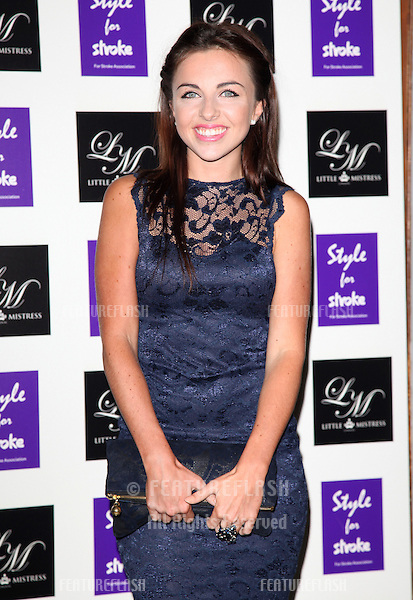 Louisa Lytton arriving for the Style for Stroke Party, 5 Cavendish Square, London. 02/10/2012 Picture by: Alexandra Glen / Featureflash