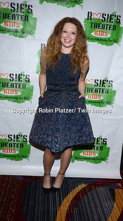 Natasha Lyonne attend Rosie's Theater Kids 10th Anniversary Gala on September 25, 2013 at the Marriott Marquis Hotel in New York City. The event is hosted by Rosie O' Donnell.