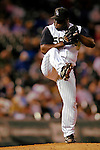 8 September 2006: Ray King, pitcher for the Colorado Rockies, on the mound against the Washington Nationals. The Rockies defeated the Nationals 11-8 at Coors Field in Denver, Colorado...Mandatory Photo Credit: Ed Wolfstein.