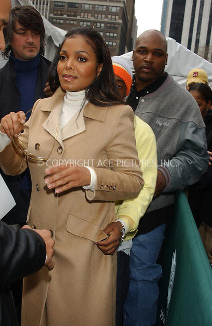 WWW.ACEPIXS.COM . . . . . ....NEW YORK, FEBRUARY 8, 2005....Janet Jackson and Jermaine Dupri at the Bill Blass Fall 2005.....Please byline: KRISTIN CALLAHAN - ACE PICTURES.. . . . . . ..Ace Pictures, Inc:  ..Philip Vaughan (646) 769-0430..e-mail: info@acepixs.com..web: http://www.acepixs.com