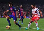 29.10.2016 Barcelona. la Liga day 10. Picture show Digne in action game between FC Barcelona against Granada CF at camp nou