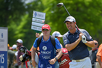 Padraig Harrington (IRL) watches his tee shot on 15 during Round 3 of the Zurich Classic of New Orl, TPC Louisiana, Avondale, Louisiana, USA. 4/28/2018.<br /> Picture: Golffile | Ken Murray<br /> <br /> <br /> All photo usage must carry mandatory copyright credit (&copy; Golffile | Ken Murray)