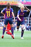 UEFA Women's Champions League 2018/2019.<br /> Semi Finals<br /> FC Barcelona vs FC Bayern Munchen: 1-0.<br /> Alexia Putellas & Kheira Hamraoui.