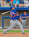 5 March 2015: New York Mets infielder Alex Castellanos at bat against the Washington Nationals at Space Coast Stadium in Viera, Florida. The Mets fell to the Nationals after a late inning rally, dropping a 5-4 Grapefruit League game. Mandatory Credit: Ed Wolfstein Photo *** RAW (NEF) Image File Available ***