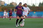 FC Barcelona vs Montpellier HSC: 1-2.<br /> Gemma Gili vs Sakina Karchaoui.