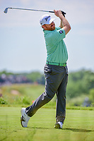 J.B. Holmes (USA) watches his tee shot on 13 during Friday's round 2 of the 117th U.S. Open, at Erin Hills, Erin, Wisconsin. 6/16/2017.<br /> Picture: Golffile | Ken Murray<br /> <br /> <br /> All photo usage must carry mandatory copyright credit (&copy; Golffile | Ken Murray)