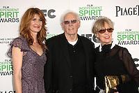 Laura Dern, Bruce Dern<br /> at the 2014 Film Independent Spirit Awards Arrivals, Santa Monica Beach, Santa Monica, CA 03-01-14<br /> David Edwards/Dailyceleb.com 818-249-4998