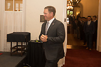 SAN FRANCISCO, CA - September 7, 2017: 3rd Annual Bush Cup vs Army vs. Stanford Reception and Dinner at the Olympic Club