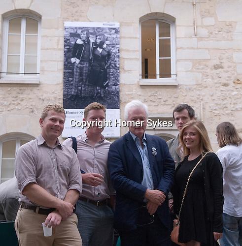 Nick, Jacob, HWS, Theo, Tallulah. 26/06/2014 Maison de la Photographic Robert Doisneau Paris.
