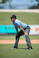 Umpire Ty Krauss during an Instructional League game between the Toronto Blue Jays and Detroit Tigers on October 12, 2017 at Joker Marchant Stadium in Lakeland, Florida.  (Mike Janes/Four Seam Images)