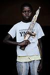 baraka. 13 ans. 1 mois passés dans les groupes armés. Bukavu, RDC, juillet 2013.