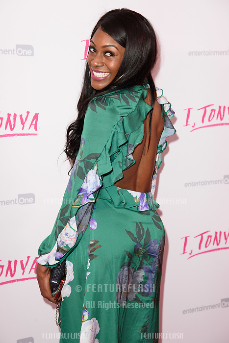 "Perri Shakes-Drayton at the ""I, Tonya"" premiere at the Curzon Mayfair, London, UK. <br /> 15 February  2018<br /> Picture: Steve Vas/Featureflash/SilverHub 0208 004 5359 sales@silverhubmedia.com"