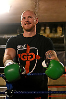 George Groves looks on during a Media Workout at Dale Youth ABC on 10th October 2017