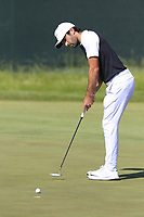 Joel Stalter (FRA) putts on the 6th green during Friday's Round 2 of the 117th U.S. Open Championship 2017 held at Erin Hills, Erin, Wisconsin, USA. 16th June 2017.<br /> Picture: Eoin Clarke | Golffile<br /> <br /> <br /> All photos usage must carry mandatory copyright credit (&copy; Golffile | Eoin Clarke)