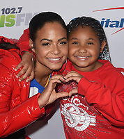 INGLEWOOD, CA - NOVEMBER 30: Christina Milian and daughter Violet Madison Nash attends 102.7 KIIS FM's Jingle Ball 2018 Presented by Capital One at The Forum on November 30, 2018 in Inglewood, California. <br /> CAP/MPIIS<br /> &copy;MPIIS/Capital Pictures