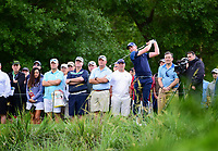 Daniel Berger (USA) watches his tee shot on 10 during round 1 of the Shell Houston Open, Golf Club of Houston, Houston, Texas, USA. 3/30/2017.<br /> Picture: Golffile | Ken Murray<br /> <br /> <br /> All photo usage must carry mandatory copyright credit (&copy; Golffile | Ken Murray)