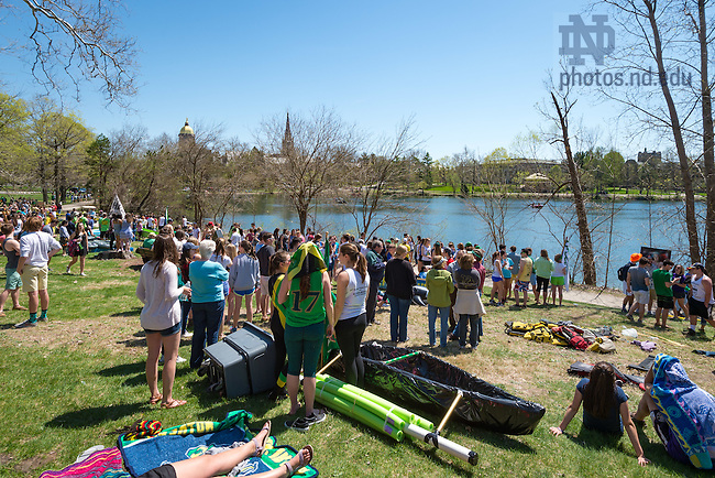 Apr. 23, 2016; Fisher Regatta (Photo by Matt Cashore/University of Notre Dame)