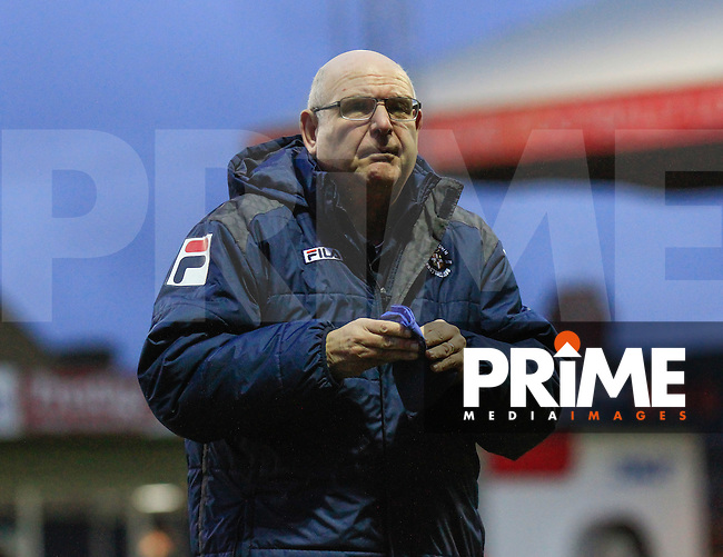 Luton Town manager John Still during the Sky Bet League 2 match between Luton Town and Northampton Town at Kenilworth Road, Luton, England on 12 December 2015. Photo by Liam Smith/Prime Media Images.