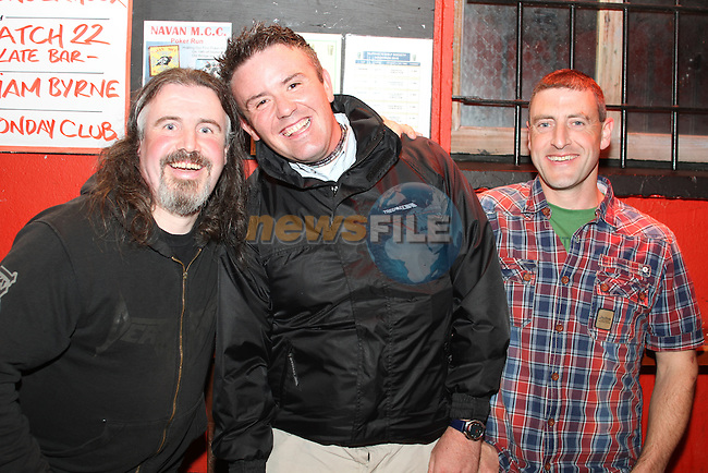 Stephen Finegan, Sean Davidson and Bill Carson in McPhails...Picture Jenny Matthews/Newsfile.ie