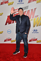 Kevin Feige at the premiere for &quot;Ant-Man and the Wasp&quot; at the El Capitan Theatre, Los Angeles, USA 25 June 2018<br /> Picture: Paul Smith/Featureflash/SilverHub 0208 004 5359 sales@silverhubmedia.com