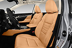 Front seat view of 2016 Lexus GS 200t 4 Door Sedan Front Seat  car photos