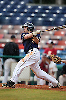 March 21, 2010:  Outfielder Jacob Featherstone of the Genesee Community College Cougars during a game at Holman Stadium at Dodgertown in Vero Beach, FL.  Photo By Mike Janes/Four Seam Images